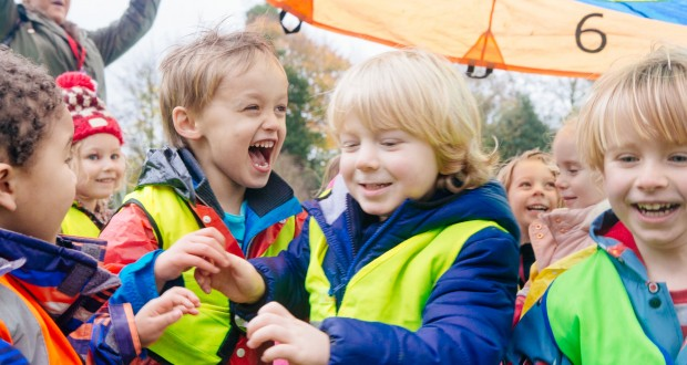 Outdoor play and activities are an essential part of the day at our nursery. We encourage energetic play and structured risk taking activities within a safe environment.